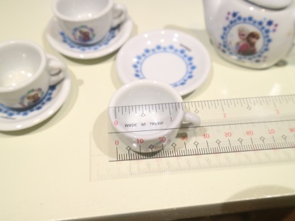 frozen tea cup circumference